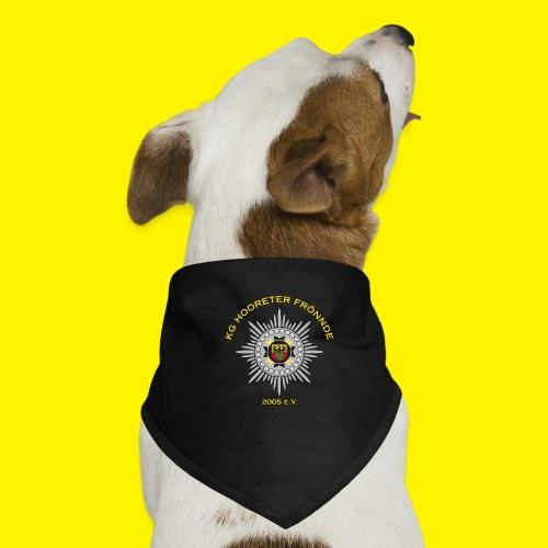 Gelbe Schrift - Hunde-Bandana