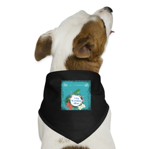 The caribean inside - Pañuelo bandana para perro