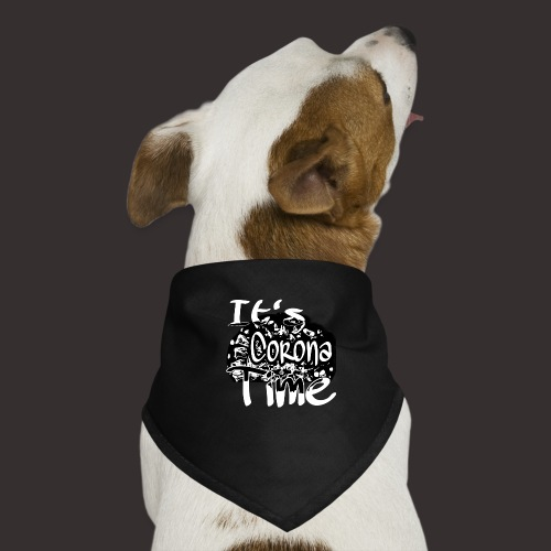 Corona Time - Hunde-Bandana