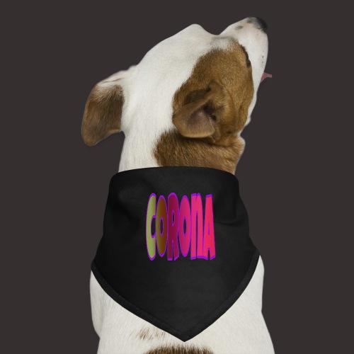 Corona tshirt - Hunde-Bandana
