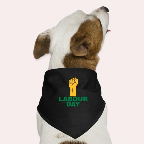 Día del trabajo / Puño en alto - Pañuelo bandana para perro