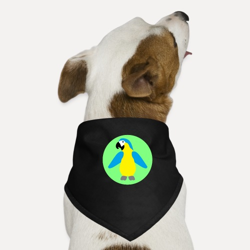 Yellow-breasted Macaw - Dog Bandana