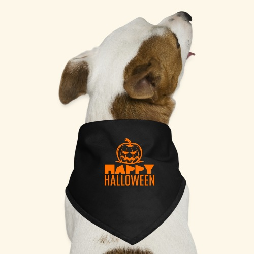 happy halloween - Pañuelo bandana para perro