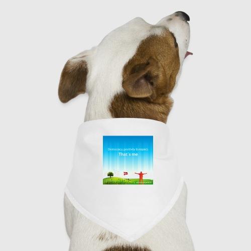 Rolling hills tshirt - Bandana til din hund