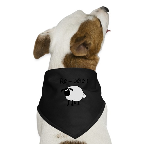 mouton-re-bele - Bandana pour chien