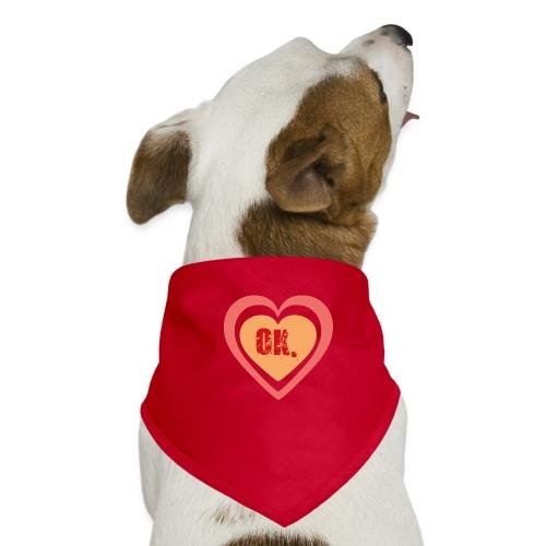 OK. heart - Honden-bandana