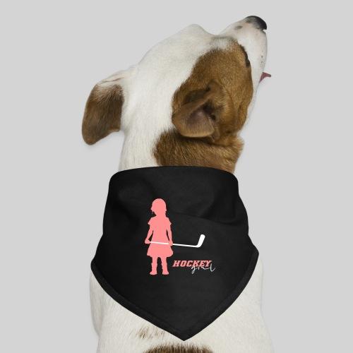 Hockey Girl I - Hunde-Bandana