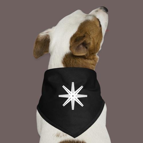GBIGBO zjebeezjeboo - Rock - Octastar Blanc - Bandana pour chien