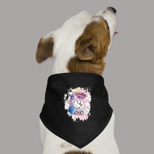 shirt bunt tshirt druck - Hunde-Bandana