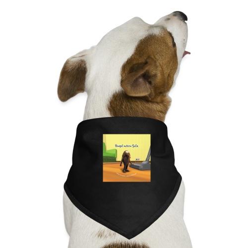 button cover - Hunde-Bandana