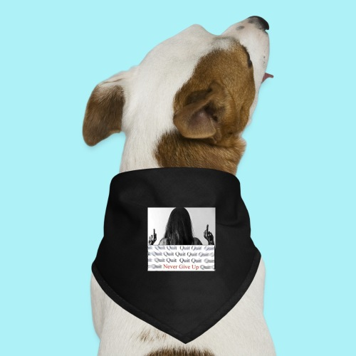 Never give up - Bandana pour chien
