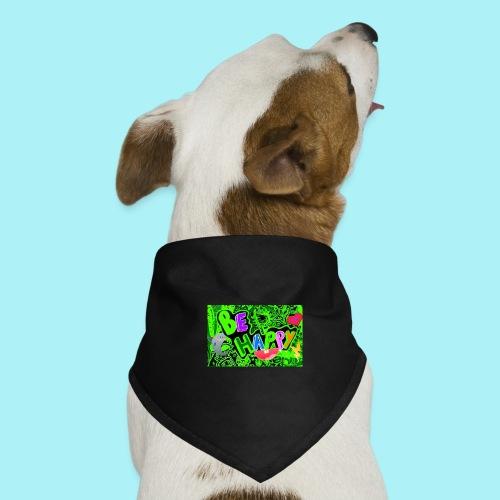 Be happy - Bandana pour chien