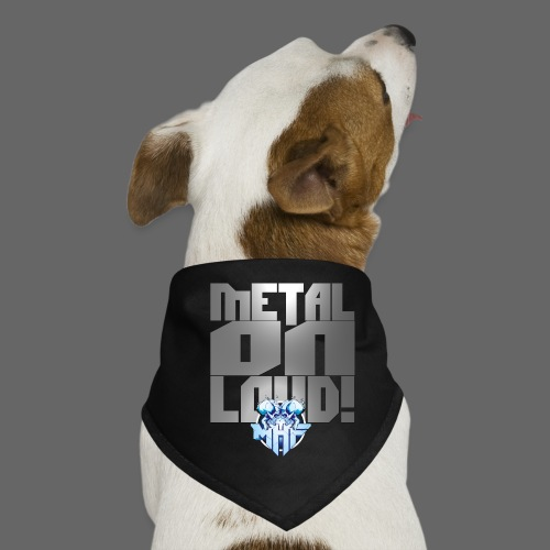 metalonloud large 4k png - Dog Bandana
