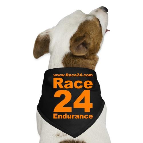 Race24 Logo in Orange - Dog Bandana