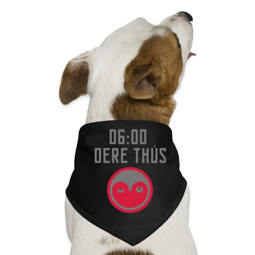 6 oere tus - wit - Honden-bandana