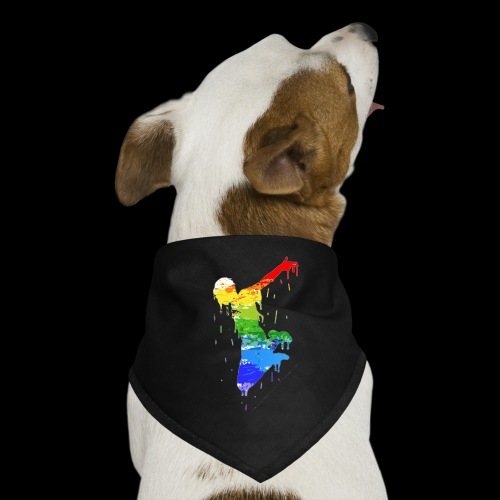 jump design paint - Dog Bandana