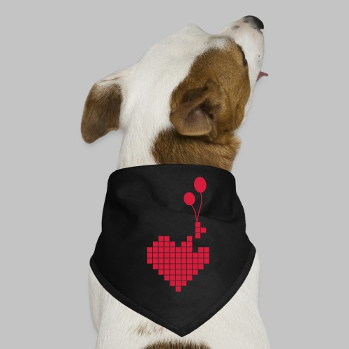 heart and balloons - Dog Bandana
