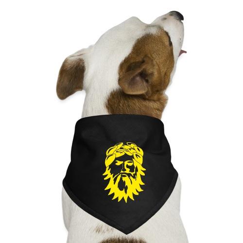 Alkuperäinen logo - keltainen - Koiran bandana