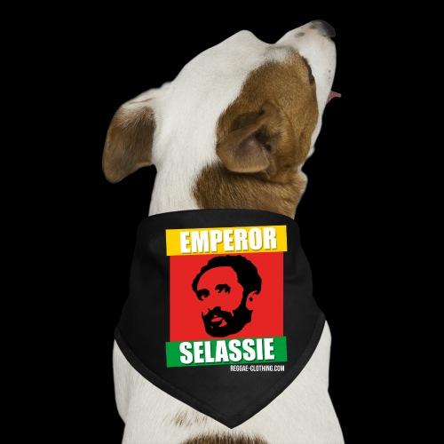 EMPORER SELASSIE red gold green - Hunde-Bandana