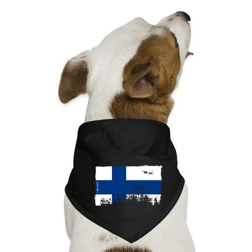 Suomen lippu, Finnish flag T-shirts 151 Products - Koiran bandana