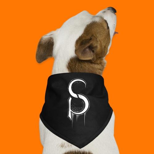 SCP-sign-WHITE transp - Dog Bandana