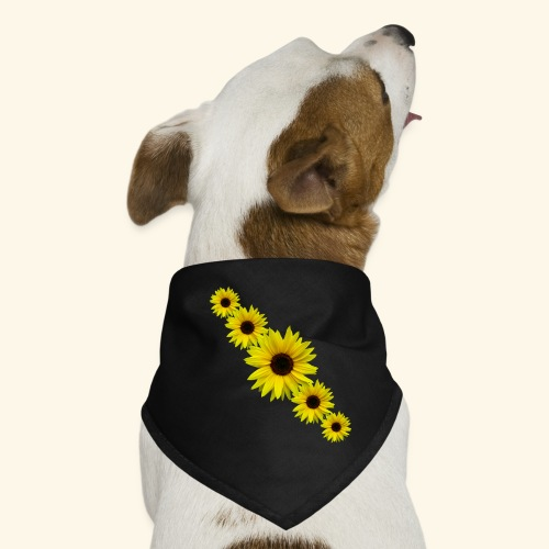 Sonnenblume, Sonnenblumen, Blumen - Hunde-Bandana
