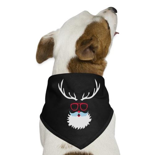Santa Clauss Eye glasses - Bandana pour chien