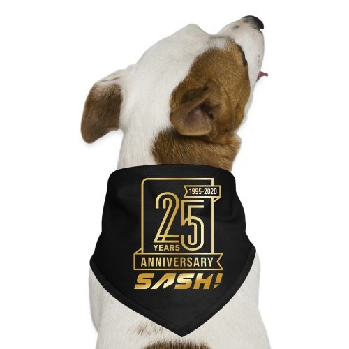 SASH! 25 Years Annyversary - Dog Bandana