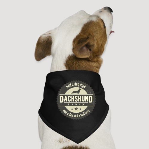 Dachshund Power - Honden-bandana