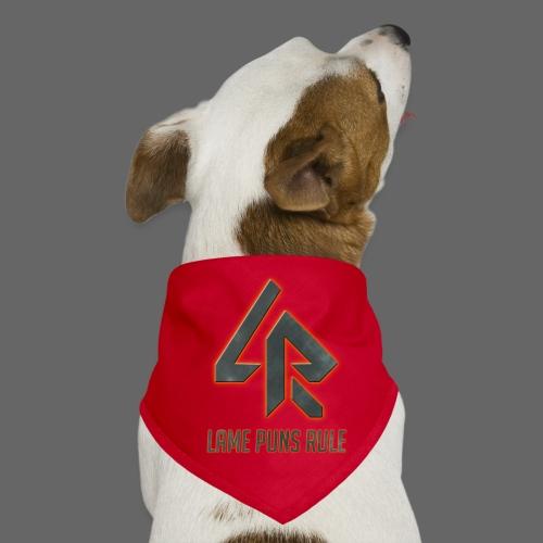 Lame Puns Rule: Logo - Dog Bandana