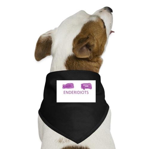 enderproductions enderidiots design - Dog Bandana