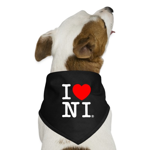 I love NI - Dog Bandana