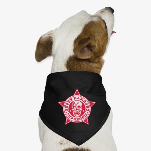 Hamburg Supergeil Totenkopf T-Shirt - Hunde-Bandana