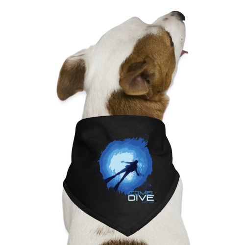 Come and dive with me - Bandana dla psa