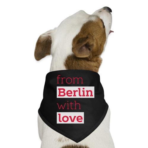 From Berlin with Love - Hunde-Bandana