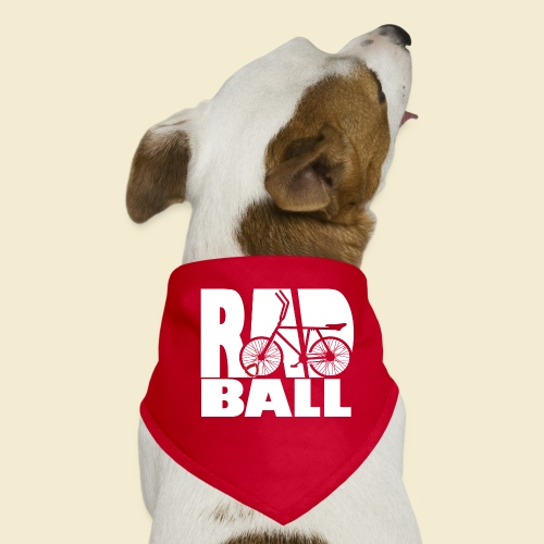 Radball   Typo - Hunde-Bandana