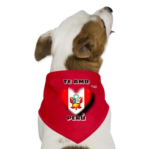 Te Amo Peru Corazon - Bandana pour chien