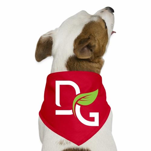 DrGreen Logo Symbol weiss grün - Hunde-Bandana