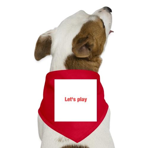 Let's play - Dog Bandana