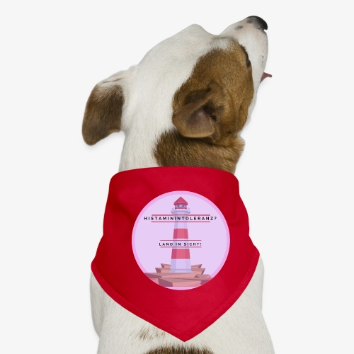 Histaminintoleranz – Land in Sicht - Hunde-Bandana