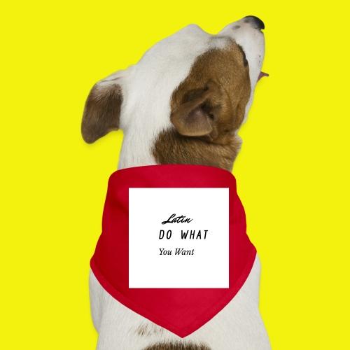 newproject 1 original - Pañuelo bandana para perro