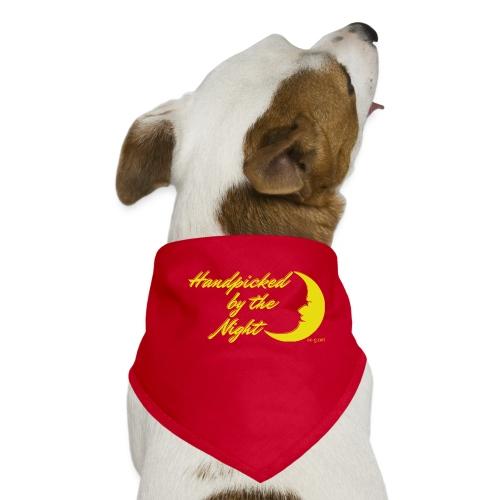 Handpicked design By The Night - Logo Yellow - Dog Bandana