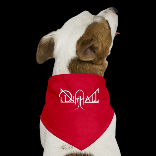 Dimhall White - Dog Bandana