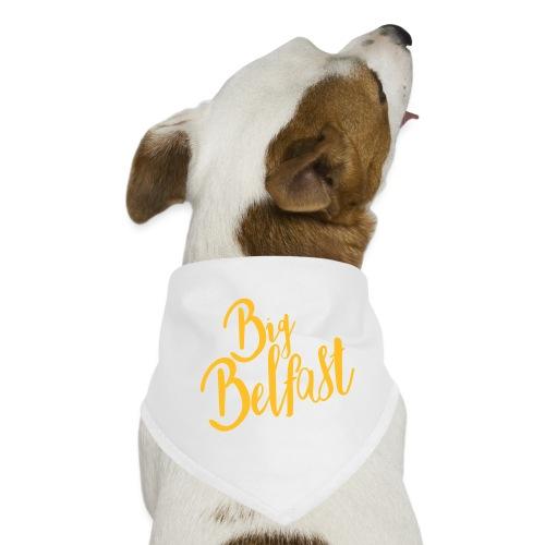 Big Belfast Choir Yellow white - Dog Bandana