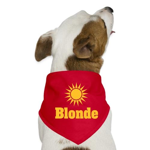 Blonde - Hunde-bandana