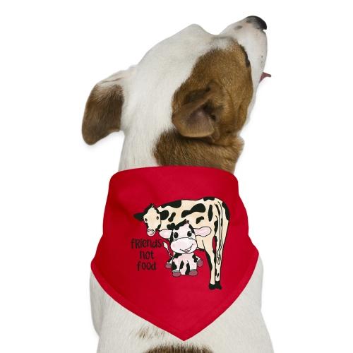 Friends not food - Dog Bandana