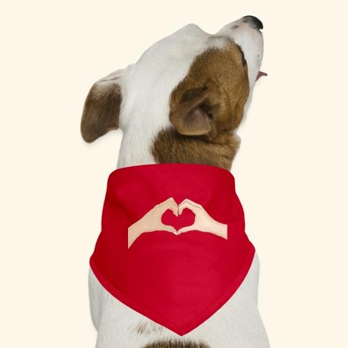 Mains Coeur Amour - Love hands - Bandana pour chien