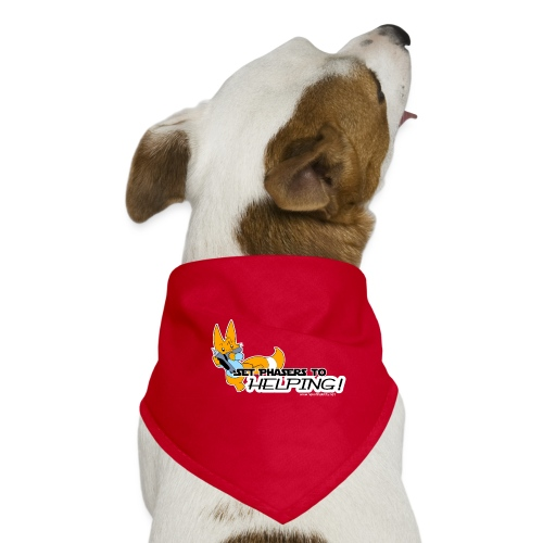 Set Phasers to Helping - Dog Bandana