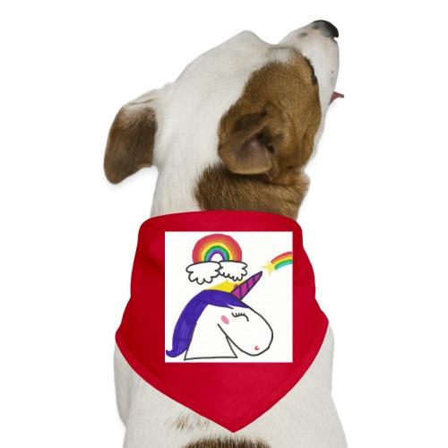 Unicorno arcobaleno - Bandana per cani
