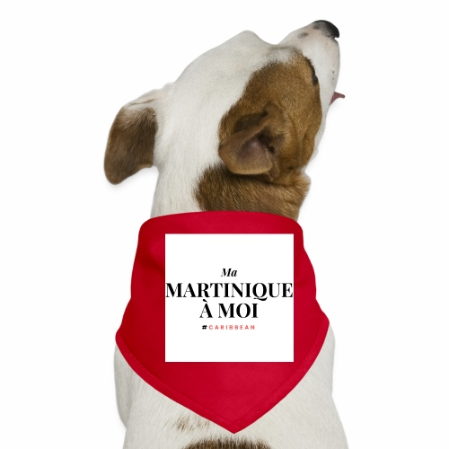 Ma Martinique à Moi - Bandana pour chien